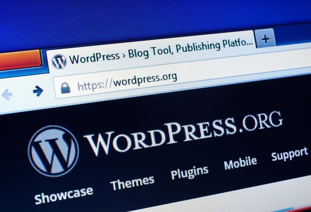Installing WordPress on your Temporary URL